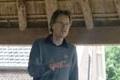 Arjen vertelt in boerderij Hoof Bosch